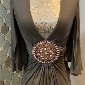 Sky sexy crystal embellished size S